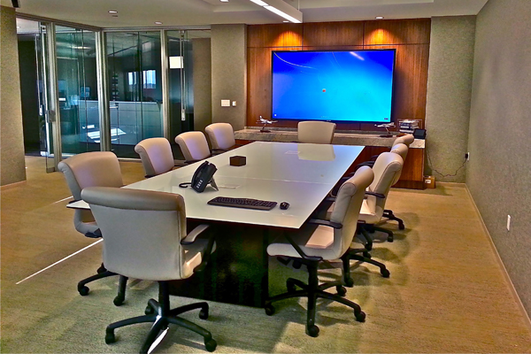 Conference Room Installation Los Angeles